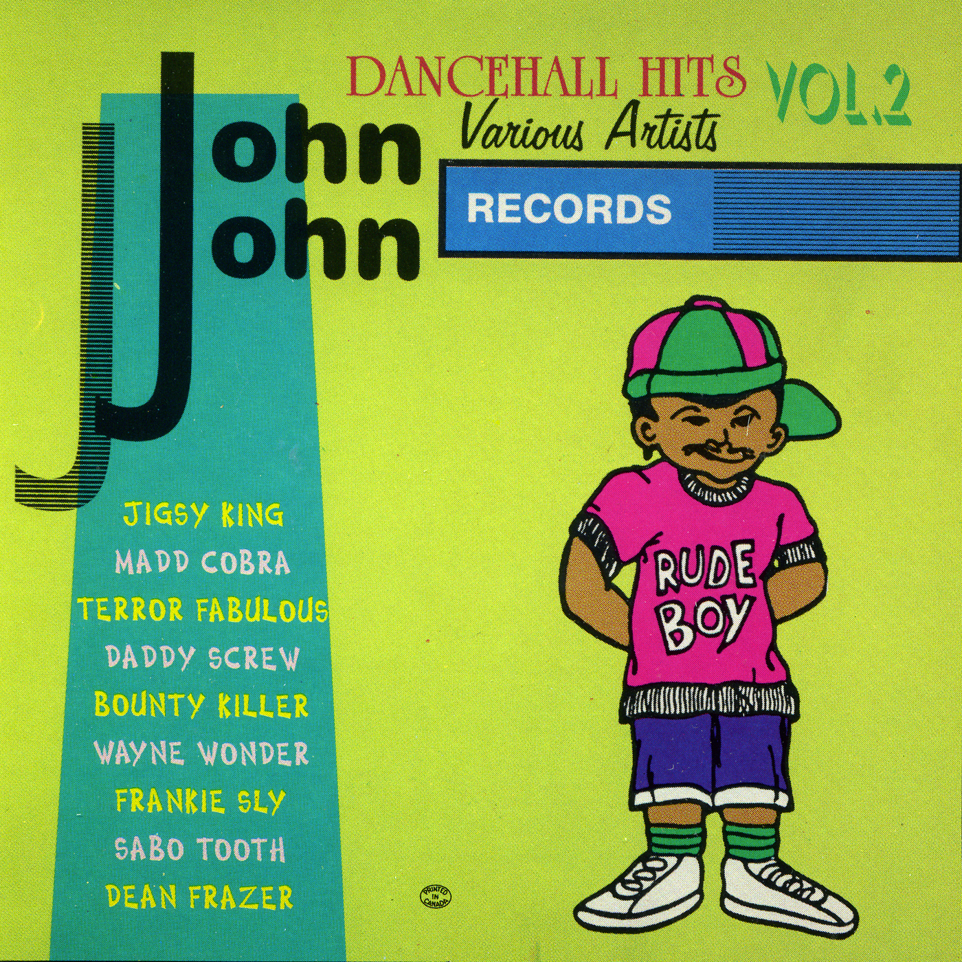 John John Dancehall Hits Vol. 2
