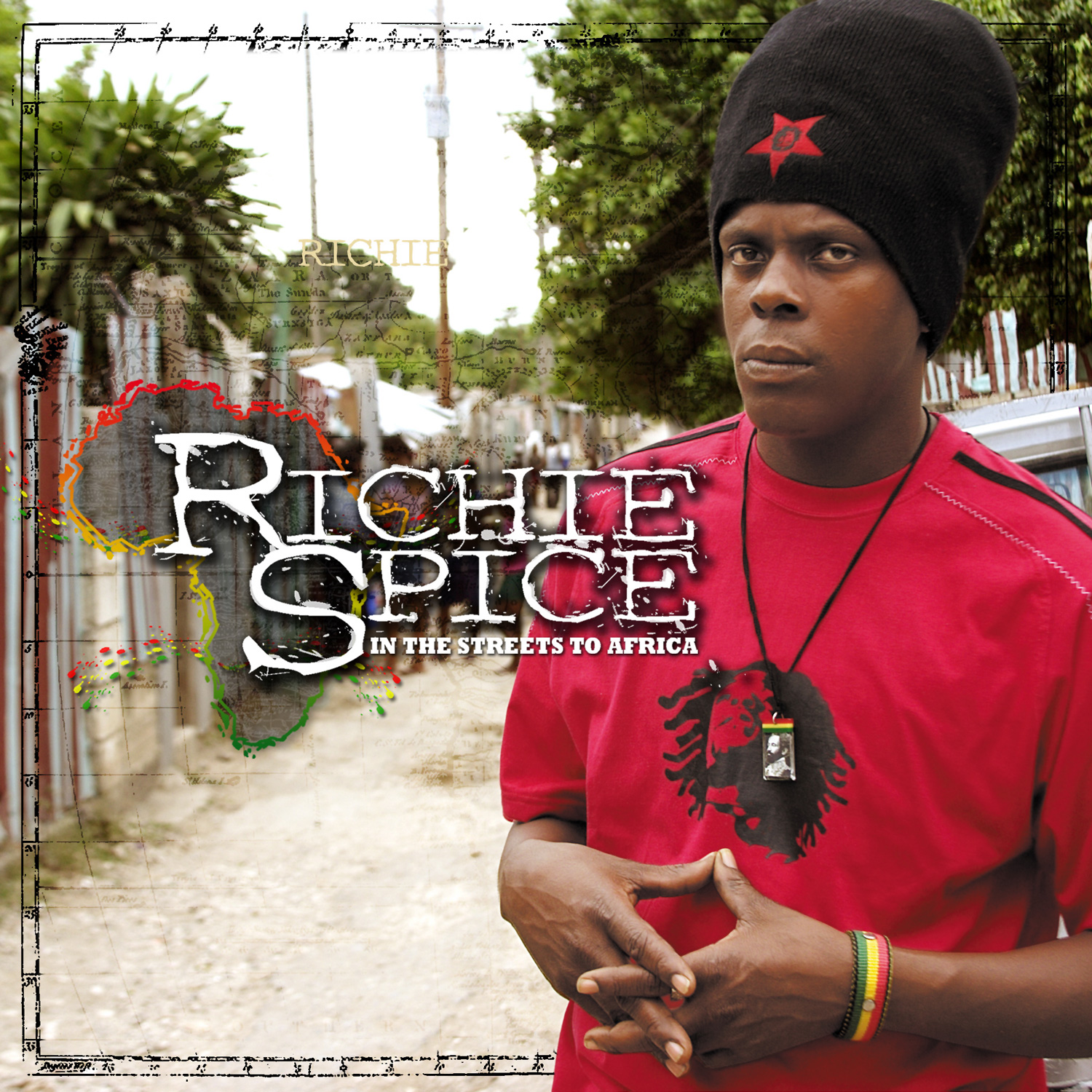 Richie Spice – In The Streets To Africa (CD/DVD)