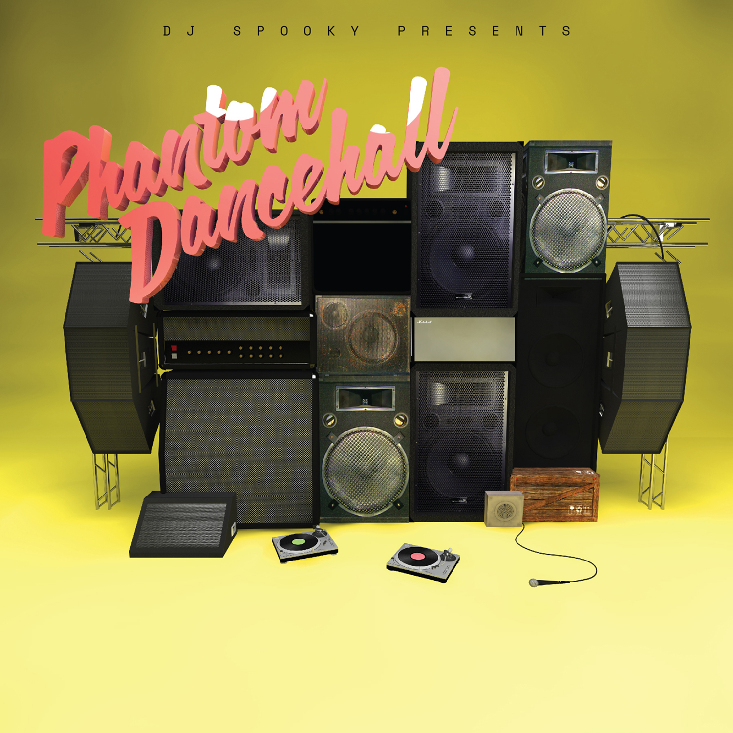 """Phantom Dancehall"""" Vinyl by DJ Spooky Out on Record Store"""