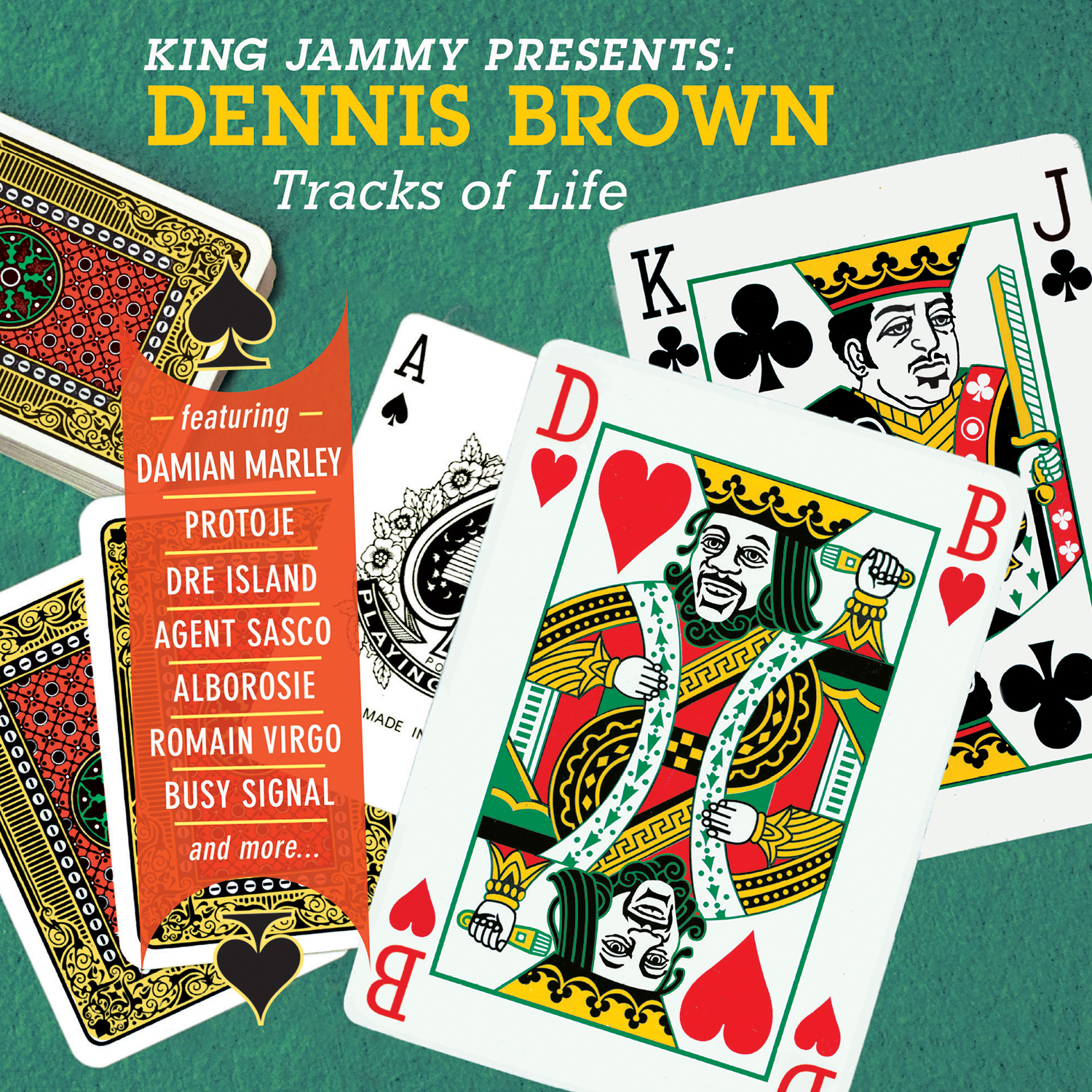 King Jammy presents Dennis Brown Tracks Of Life